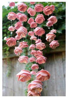 Passo a passo mobile de rosas