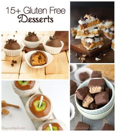 15 Awesome Gluten Free Desserts from bloggers! | Miss Candiquik