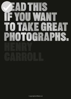 Read This If You Want to Take Great Photographs - Dont forget to travel (*Amazon Partner-Link)