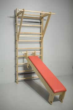 FORMA Plain Ladder + Bench + Pull up Bar = FORMA Totus 102. FORMA Totus 102 All - In - One Exercise System. Visit www.thegymdesign.com to see FORMA Totus Intro Movie. Allow 2-3 weeks for delivery. All American! Designed by Christof Prus and made in the USA. Perfect for home and comercial use.