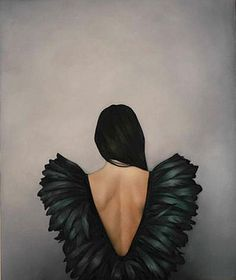 BLACK FLAMES by Amy Judd Art