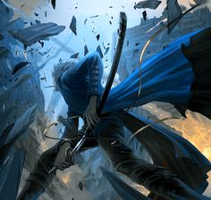 Vergil Devil may cry dmc Game Character, Character Design, Vergil Dmc, Devil May Cry 4, Hack And Slash, Basara, Video Game Art, Dark Souls, Resident Evil