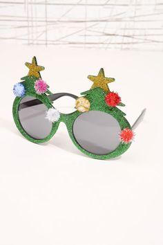 Xmas Tree Glasses