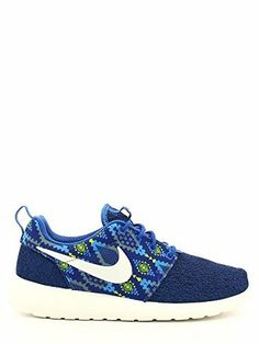 pretty nice fc80e a2254 nike roshe one print mens trainers 655206 sneakers shoes (uk 9.5 us 10.5 eu  44.5, game royal sail cool grey photo blue 410)