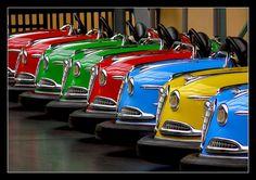 Bumper cars, Hungary