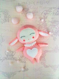 Animals felt-Toy lamb-Personalized dolls-Sleep toy-Felt sheep Toy-Gift for kids-Felt animals-Nursery animals-Felt game-Felt ornaments by SweeToysBaby on Etsy https://www.etsy.com/listing/450934870/animals-felt-toy-lamb-personalized-dolls