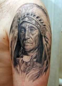 Native American Indian Tattoo Designs Tribal Warrior Wild Animals ...