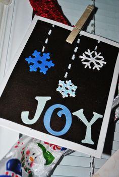 EASY, cheap DIY Christmas cards