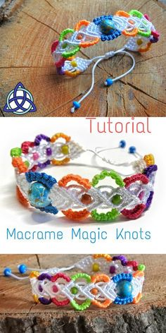 In this Macrame tutorial video you will see How to Make Rainbow Macrame Bracelet Tutorial - EASY Colorful Craft Macrame Bracelet Patterns, Macrame Bracelet Tutorial, Friendship Bracelets Tutorial, Macrame Patterns, Macrame Jewelry, Macrame Bracelets, Friendship Bracelet Patterns, Jewelry Patterns, Macrame Knots