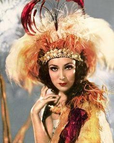 Trouble In Paradise: Dreampinups - Exquisitely Exotic. Delores Del Rio.