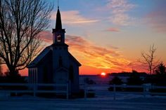 South Dakota prairie chuches   In front of West Nidaros is a replica of the old Nidaros Lutheran that ...