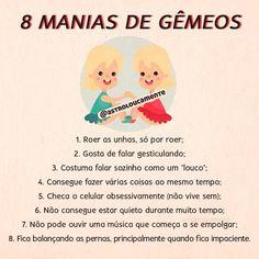 8 manias do signo de Gêmeos e só quem é geminiano sabe bem o que é isso... Confere pessoal?! Qual é a sua principal mania? 😂 Beijos da… Meaningful Drawings, My Resume, Love You, My Love, Pisces, Zodiac Signs, Family Guy, Humor, Words