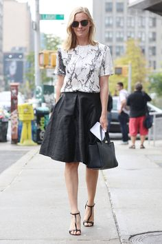 Street Chic NYFW SS14 - New York Fashion Week Street Style - Elle