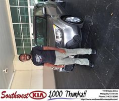 https://flic.kr/p/B1kD69 | #HappyBirthday to Karvin from Carolina Sanchez at Southwest Kia Mesquite! | deliverymaxx.com/DealerReviews.aspx?DealerCode=VNDX