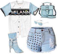 Melanin Baseball Jersey (8 colors)