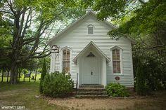 Little church in Blowing Rock, North Carolina