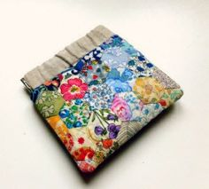 Tutorial: Flex frame pouch made of Liberty – Quilting