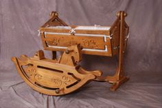 Pics of Baby cradles antique - Bing images Baby Cradle Plans, Baby Cradle Swing, Baby Cradle Wooden, Wood Cradle, Rocking Horses For Sale, Kids Rocking Horse, Handmade Baby, Handmade Wooden, Retro Pictures