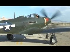 Restored WWII P-63 Kingcobra Fighter Flight Demo - GREAT Allison V-12 Engine Sound! This is a video of the Palm Springs Air Museum's rare Bell P-63 Fighter. The P-63 was a further development of Bell's P-39 Airacobra. The Soviet Union used them quite extensively in WWII principally in the ground-attack role which took advantage of the nose-mounted 37mm Oldsmobile M4 cannon. Although not having the performance of the P-51 Mustang and some other WWII fighters, the P-63 remains a fascinating…