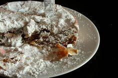 Panforte (Siena)is a traditional Christmas sweet of Siena, spicy and very nutritious, circular in shape, low and compact, and slightly chewy on the palate. (Credits to Tuscanycious and m4_n1c4 on Flickr)