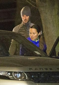 James helps Pippa out of the car ahead of their training session. The couple are apparently gearing up for a romantic getaway in Norway. Pippa, who is something of a regular on the slopes, was in Switzerland in January
