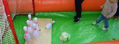 Häsch Du scho mal Fuessball-#Bowling probiert? Bowling, Corporate Events, Birthday Parties, Football, Breakfast Nook, Soccer, School, Anniversary Parties, Futbol