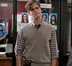 More MGG sweater vest-y action