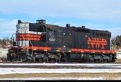 RailPictures.Net Photo: NWP 4327 Northwestern Pacific Railroad EMD SD9 at Longmont, Colorado by BUFFIE