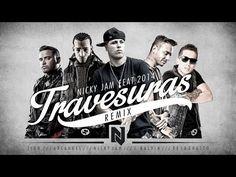 Travesuras Remix - Nicky Jam Ft De La Ghetto, J balvin, Zion y Arcangel   Video Lyric - YouTube