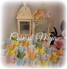 Farfalline in ceramica, by COSE DI MYA, 105,00 € su misshobby.com