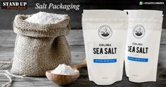 #Salt is one of the most consumed products in all the houses in the #world, with different #shapes and #colors. We produce bags for packing salt which protect it from exposure to pollution,