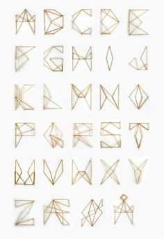 Elastic Font - A font made of elastic bands. Source: Typography Served. Submitted By: Jenny Kyvik Hutchens