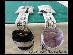 Une poubelle à fil et pique aiguille très pratique pour l'atelier couture proposé par les Créas de Valma. Le tutoriel téléchargeable au format PDF est bien décrit avec de nombreuses photos, de plus il est disponible en format vidéo (en bas de l'article)...