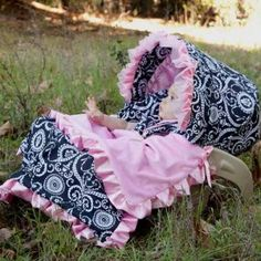 Mid Summer Dream Infant Car Seat Cover - Pink Baby Boutique
