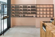 Torafu Architects has collaborated with Australian skincare brand Aesop for a fifth time, to design the interior of its Osaka shop.