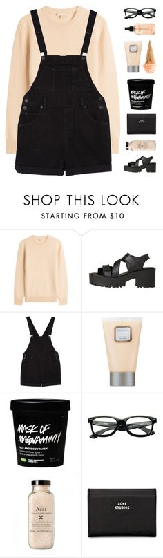 """i used to doubt / diary entry"" by tripping-on-skies ❤ liked on Polyvore featuring Michael Kors, Windsor Smith, Monki, Laura Mercier, Acne Studios and philosophy"