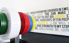 Urbanwalls Blog - 23/Seven Fitness Installation