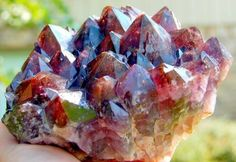 Auralite:The crystal itself carries 35 elements