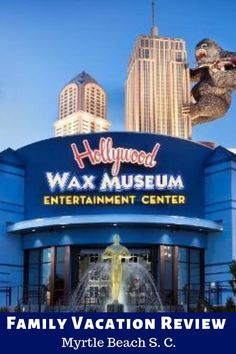 Hollywood Wax Museum at Myrtle Beach South Carolina is much more than just another wax museum. There are actually two more don't miss attractions to enjoy. Vacation Games, Family Vacation Destinations, Vacation Ideas, Myrtle Beach South Carolina, Wax Museum, United States Travel, Travel Usa, Summer Fun, Videos