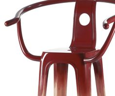 U0027Plastic Classic_Lacqueredu0027 Chair By Pili Wu For HAN Gallery (TW)
