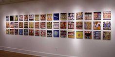 "Brendan O'Connell, artist who paints brands/displays, ""WalMart art""..."