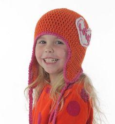 Superkul lue som er lett å lage! Crochet Mittens, Crochet Hats, Barn, Beanie, Knitting, How To Make, Kids, Fashion, Crochet Gloves