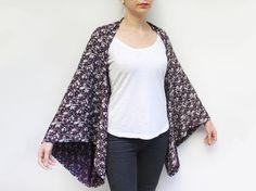 Hippie Boho Clothes Boho Kimono Cardigan Loose Plus by sascarves