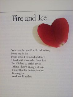 Second to poetry by Dickinson, this is my all time favorite poem. It stirs something in my soul. Very passionate.