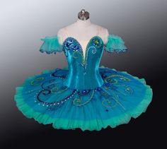 Teal tutus from Esmeralda Ballet to go with the ballet mirrors in our new studio space
