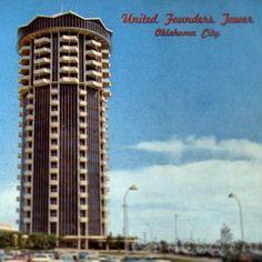 United Founders Tower, Oklahoma City, 1964, Hudgins, Thompson, Ball & Associates