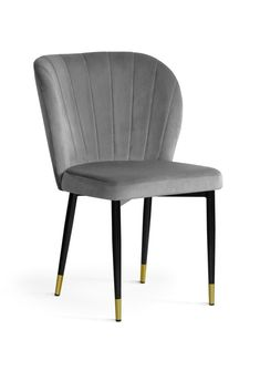 #homedecor #interiordesign #inspiration #decoration #chair #grey #velvet Accent Chairs, Dining Chairs, Velvet, Interior Design, Inspiration, Furniture, Black, Home Decor, Decoration