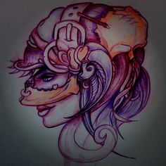 @kevindaviestattoo #draw #weird #sketch #art #skull #bones #beard #voodoo #halloween Kevin Davies, Voodoo Halloween, Sketch Art, Tattoo Art, Bones, Weird, Skull, Draw, Black And White