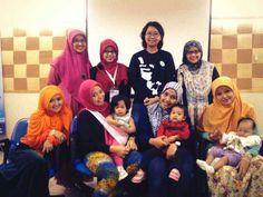 Asi For Baby bersama komunitas jajanan depok dan hijaberscomm mengisi seminar: diet ibu menyusui