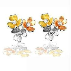 Cluster Blossom Earrings